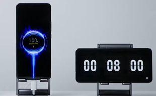 Un chargeur capable de charger un smartphone en 8 minutes top chrono