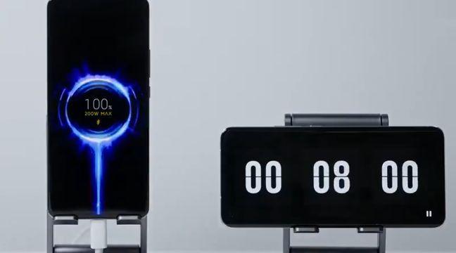 Xiaomi dévoile un chargeur capable de charger une batterie de smartphone en 8 minutes