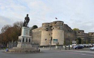 La ville d'Angers. (illustration)