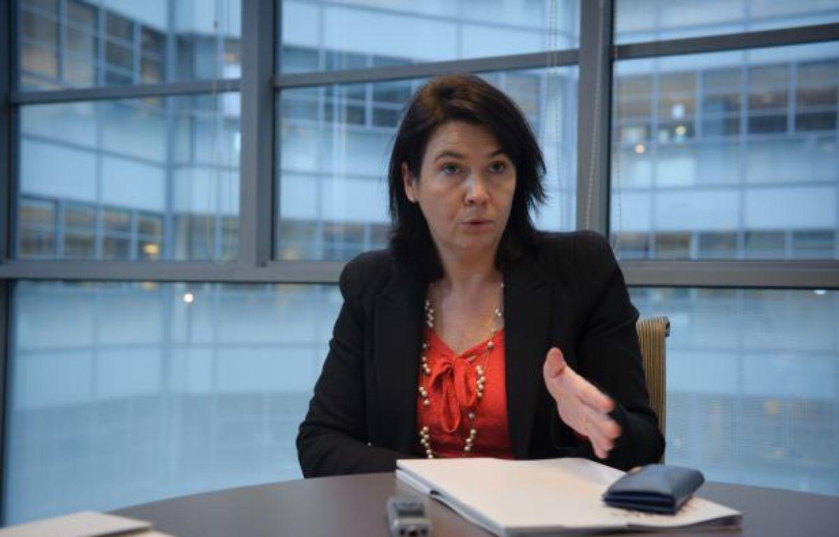 Carol Sirou, Présidente de Standard & Poor's CMS France à Paris le 8 décembre 2011 – A. GELEBART / 20 MINUTES