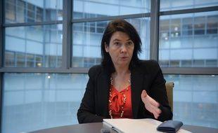 Carol Sirou, Présidente de Standard & Poor's CMS France à Paris le 8 décembre 2011