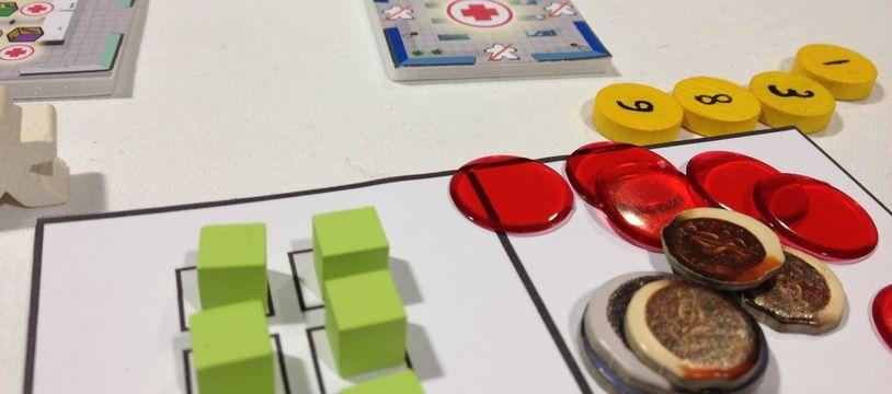 Un prototype de jeu de société (Illustration)