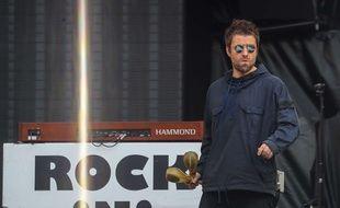Liam Gallagher en concert à Londres le 22 mai 2018