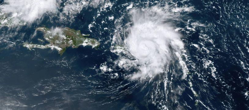 Photo d'illustration de l'ouragan Dorian, en août 2019.