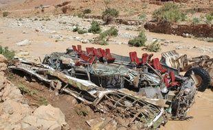 Un accident de bus survenu le 8 septembre lors de la crue d'un oued (rivière) dans le sud-est du Maroc a fait 24 morts.
