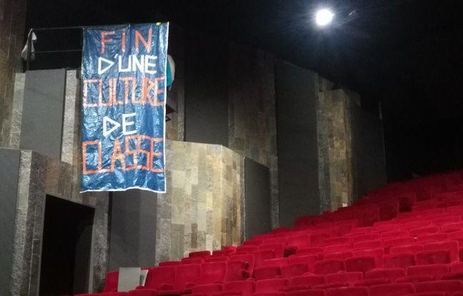 La grande salle de la Criée a été prise par les occupants du théâtre le 1er mai dernier