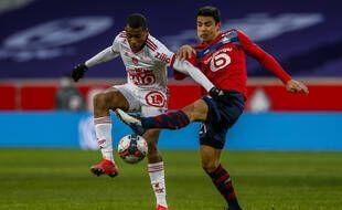 Lille et Brest s'affrontent pour le compte de la 25e journée de Ligue 1