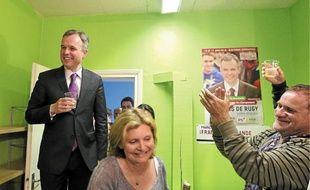 François de Rugy est réélu dans la 1ère, et Monique Rabin est élue dans la 9e.