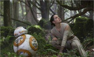Daisy Ridley dans «Star Wars : Le réveil de la Force».