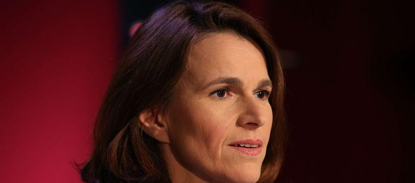 L'ancienne ministre de la Culture, Aurelie Filippetti, sur le plateau du «Grand Jury» de RTL le 19 mars 2017.