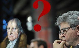 Mélenchon s'interroge sur Hegel