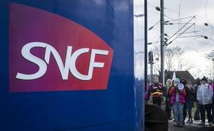 Un logo SNCF (Illustration).