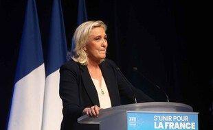 Marine Le Pen, en Juillet 2021.