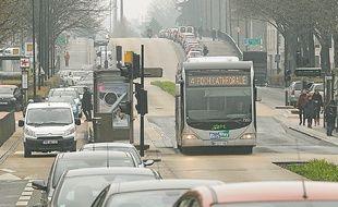 Le trafic à l'entrée sud de Nantes.