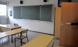Un inconnu a tiré en direction d'un professeur d'allemand, au lycée Jean  Monnet, à Strasbourg, mercredi 31 mars 2010.