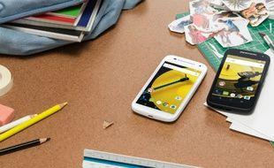 Les couleurs du nouveau Moto e de Motorola lui permettraient de faire partie des smartphones les plus rapides du marché.