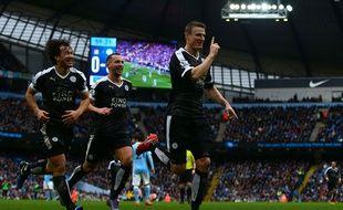 Leicester a fait forte impression sur la pelouse de l'Emirates, le 6 février 2016.