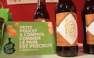 La brasserie artisanel L'Oustal, installée à Baziège (31) produit une bière élaborée à partir de pains invendus.