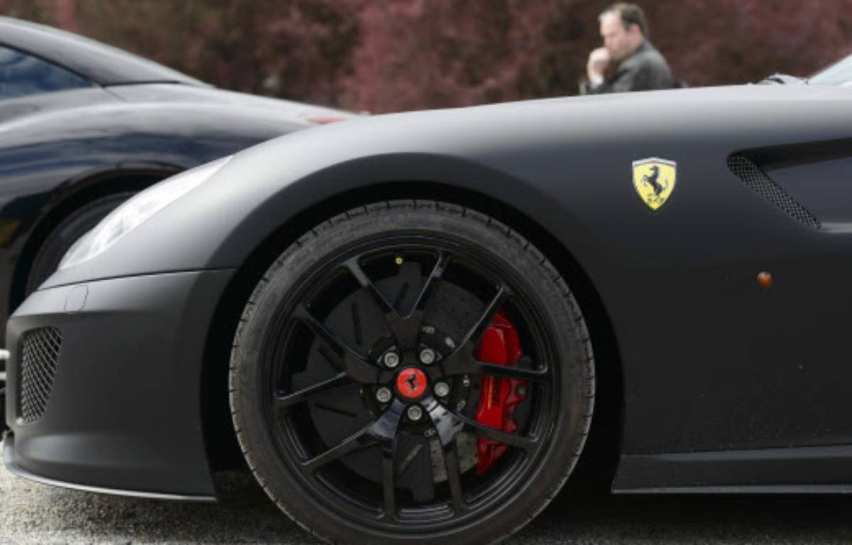 Un homme, âgé d'une vingtaine d'années, s'est filmé, ivre, au volant d'une Ferrari – Michal Kamaryt/AP/SIPA