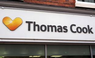 Une agence Thomas Cook, en mai 2016.
