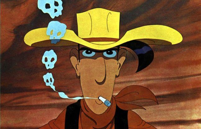 Lucky Luke dans le dessin animé Daisy Town