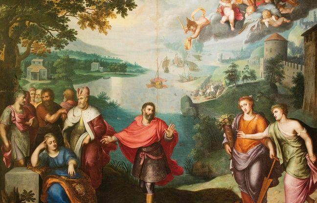 Cette toile d'Otto van Veen sera mise aux enchères à Bordeaux. Elle est estimée entre 30.000 et 40.000 euros