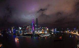 Le quartier des affaires de Lujiazui, à Shanghai