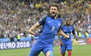 Olivier Giroud avait marqué le premier but de l'Euro 2016 lors du match contre la Roumanie.