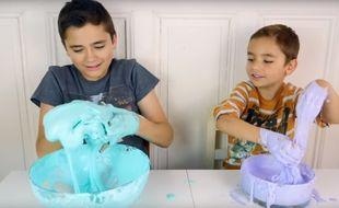 Le Slime est le nouveau loisir créatif tendance chez les enfants.
