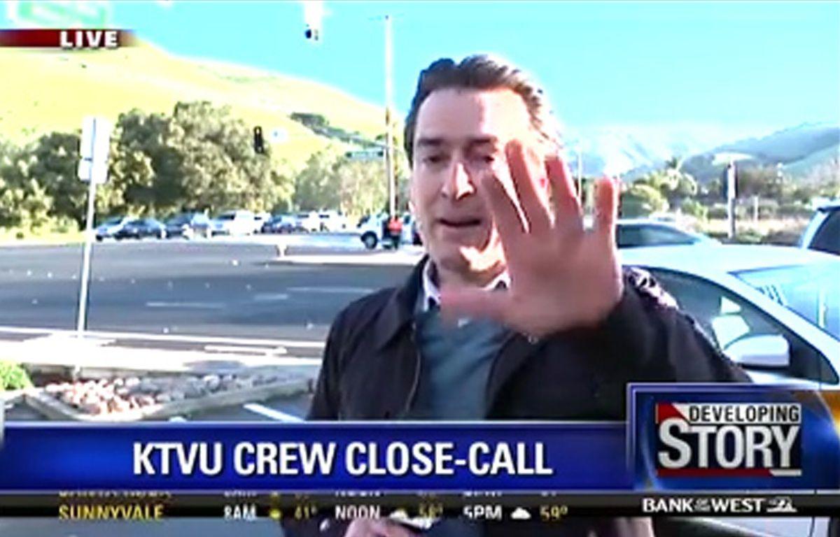 Un reporter évite de justesse un accident de la route – KTVU