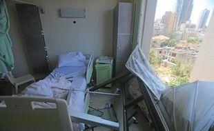 L'hôpital Wardieh, à Beyrouth, le 5 août.
