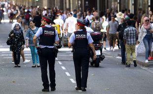 Le père de famille a été touché en sauvant sa fille lors de l'attentat sur les Ramblas à Barcelone. Illustration