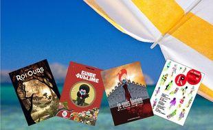 Quatre BD pour la plage