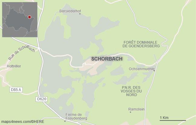 La commune de Schorbach, en Moselle.