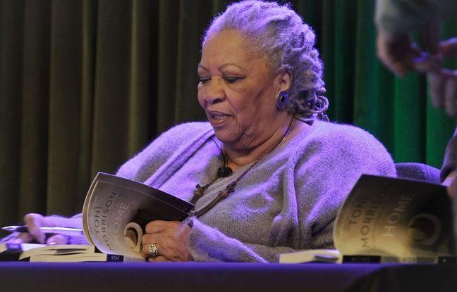 La romancière Toni Morrison.