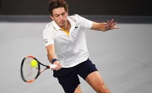 Nicolas Mahut sera l'une des têtes d'affiche du tournoi de Lille / AFP PHOTO / ANNE-CHRISTINE POUJOULAT