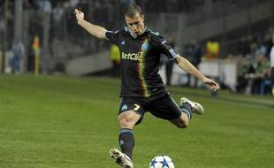 Le Marseillais Benoît Cheyrou face à Chelsea le 8 décembre 2010.