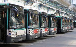 Des bus de la RATP. (illustration)