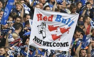 Des supporters de Schalke, anti RB Leipzig comme tant d'autres