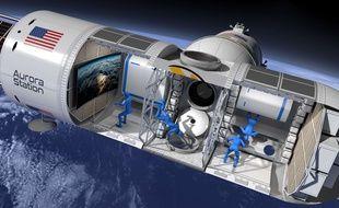 Orion Span veut lancer le premier hôtel luxe de l'espace, la Station Aurora.
