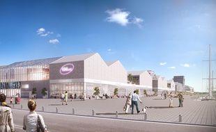 Le Quai des Caps aux Bassins à Flot à Bordeaux accueillera notamment un complexe UGC de 13 salles.