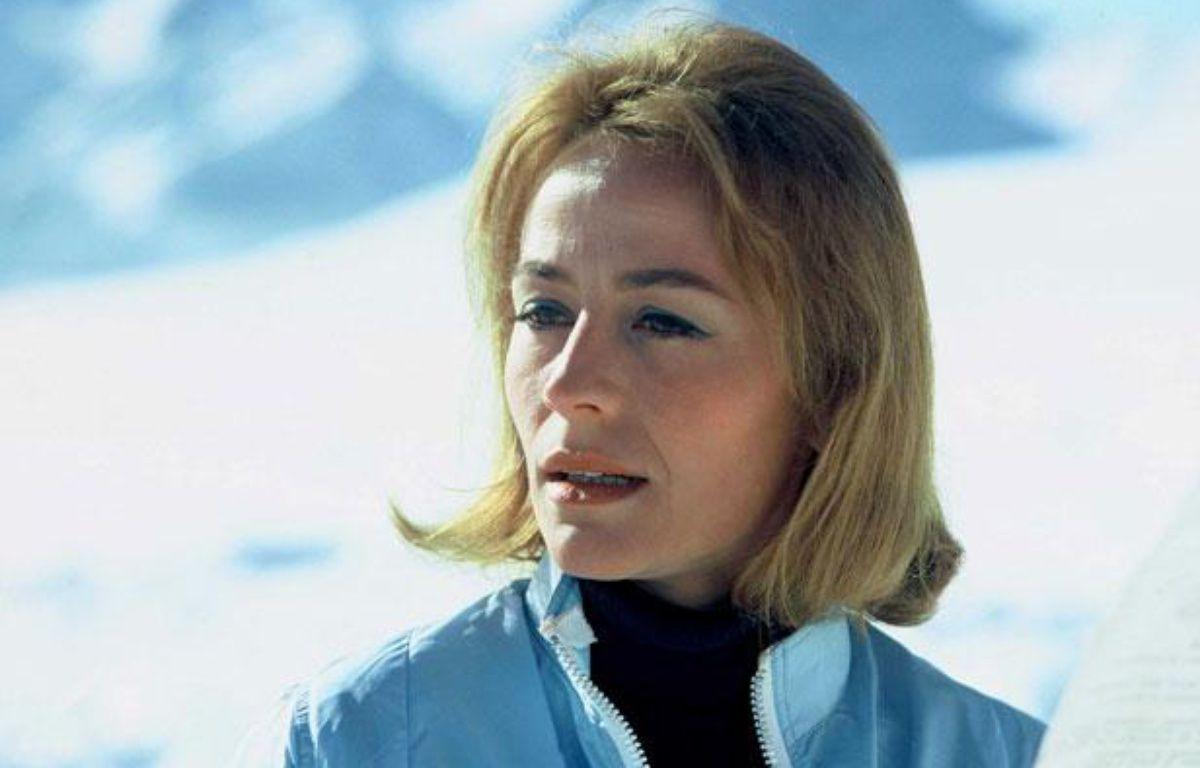 L'actrice française Annie Girardot dans le film de Claude Lelouch Vivre pour Vivre en 1967. – NANA PRODUCTIONS / SIPA