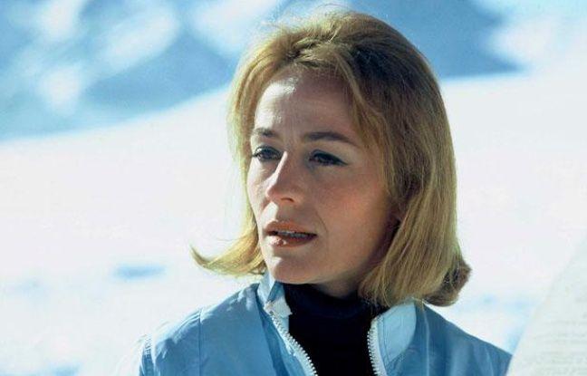 L'actrice française Annie Girardot dans le film de Claude Lelouch Vivre pour Vivre en 1967.