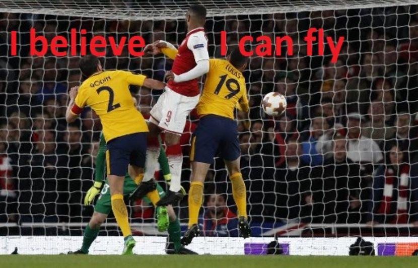 pas mal fbdbe e0323 VIDEO. Arsenal-Atletico: Depuis quand Lacazette a la détente ...