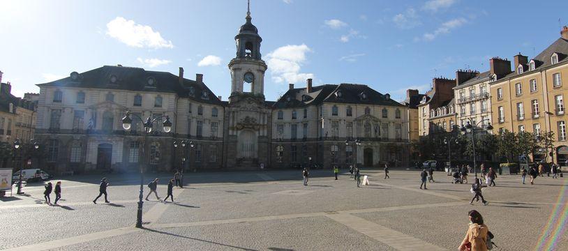 La mairie de Rennes, ici photographiée le 12 mars 2020.