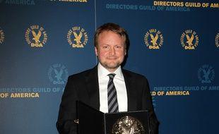 Le réalisateur Rian Johnson aux 65e Directors Guild Of America Awards