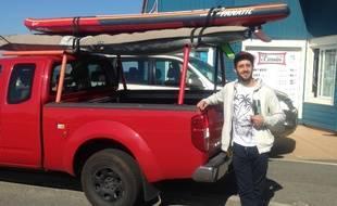 Les utilisateurs ont en général des véhicules adaptés au transport du matériel de glisse.