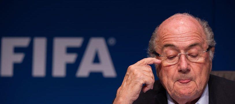 Sepp Blatter, le président de la FIFA, le 26 septembre 2014, à Zurich.