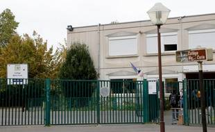 Le collège Marie Curie, aux Lilas