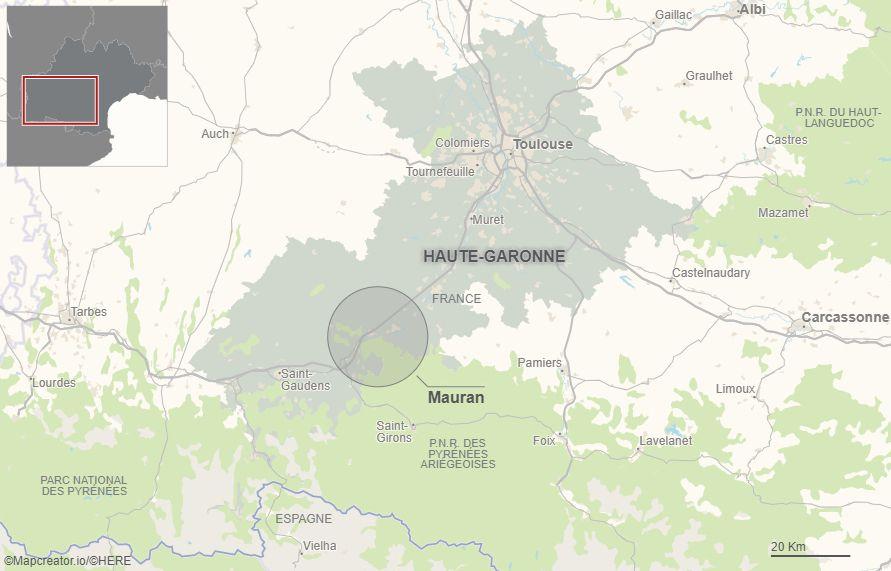 Le village de Mauran compte 224 habitants.
